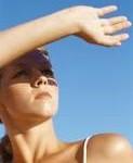 skin expose to sun